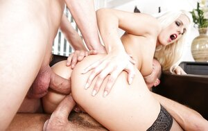 Excited kittens suck and get their asses penetrated in rectal real hardcore orgy scene
